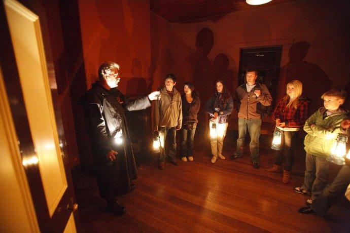 Inside the Parsonage at Port Arthur Historic Site www.portarthur.org.au/ghosttour